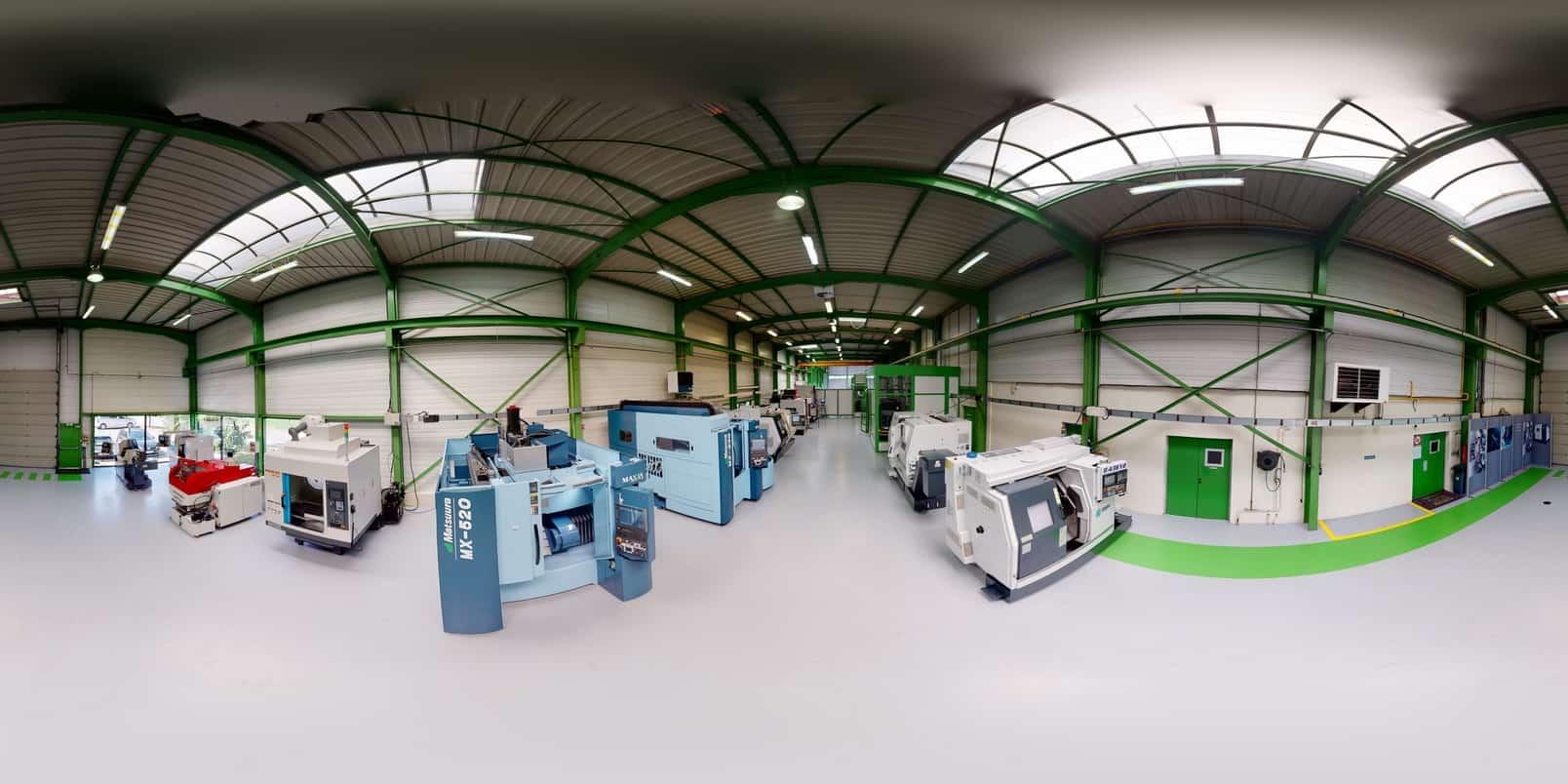 Visite virtuelle entreprise - 3D60